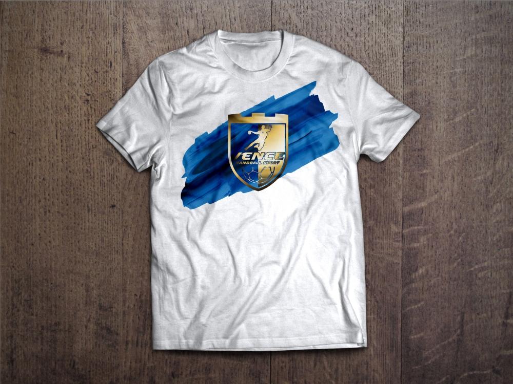 T-Shirt MockUp LogoVHS2015Gold